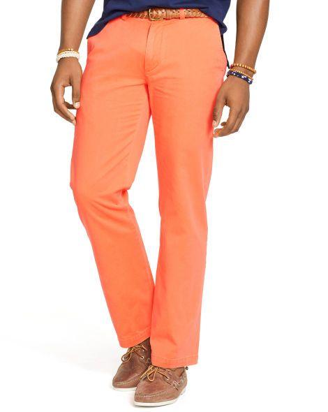 Classic-Fit Chino - Polo Ralph Lauren Men's Shop All - RalphLauren.com