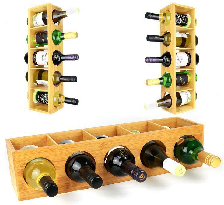 Wine Rack  Ideas of Wine Rack  Bamboo Wall Mounted Wine Rack  Wine Holder Shelf Stand  Gift Price  1378 Bamboo Wall Mounted Wine Rack  Wine Holder Shelf Stand  Gift