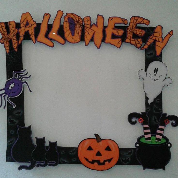Resultado de imagen para marcos para fotos de halloween infantiles