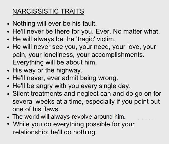 Husband narcissistic personality disorder