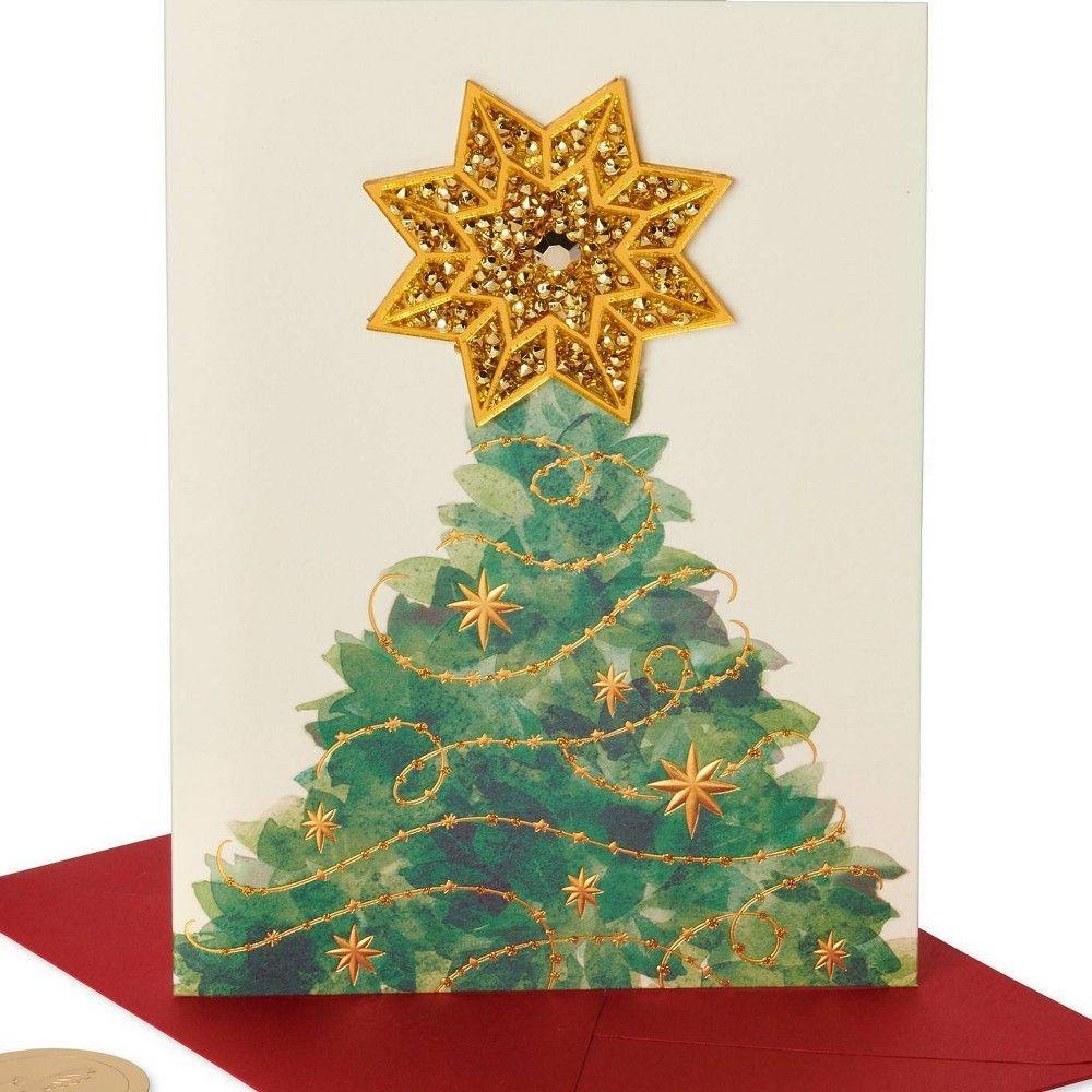 Christmas tree greeting card papyrus holiday greeting