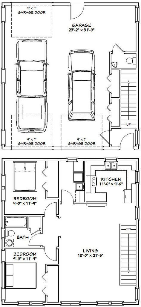 Pdf House Plans Garage Plans Shed Plans Garage House Garage Apartment Plans Garage Plans