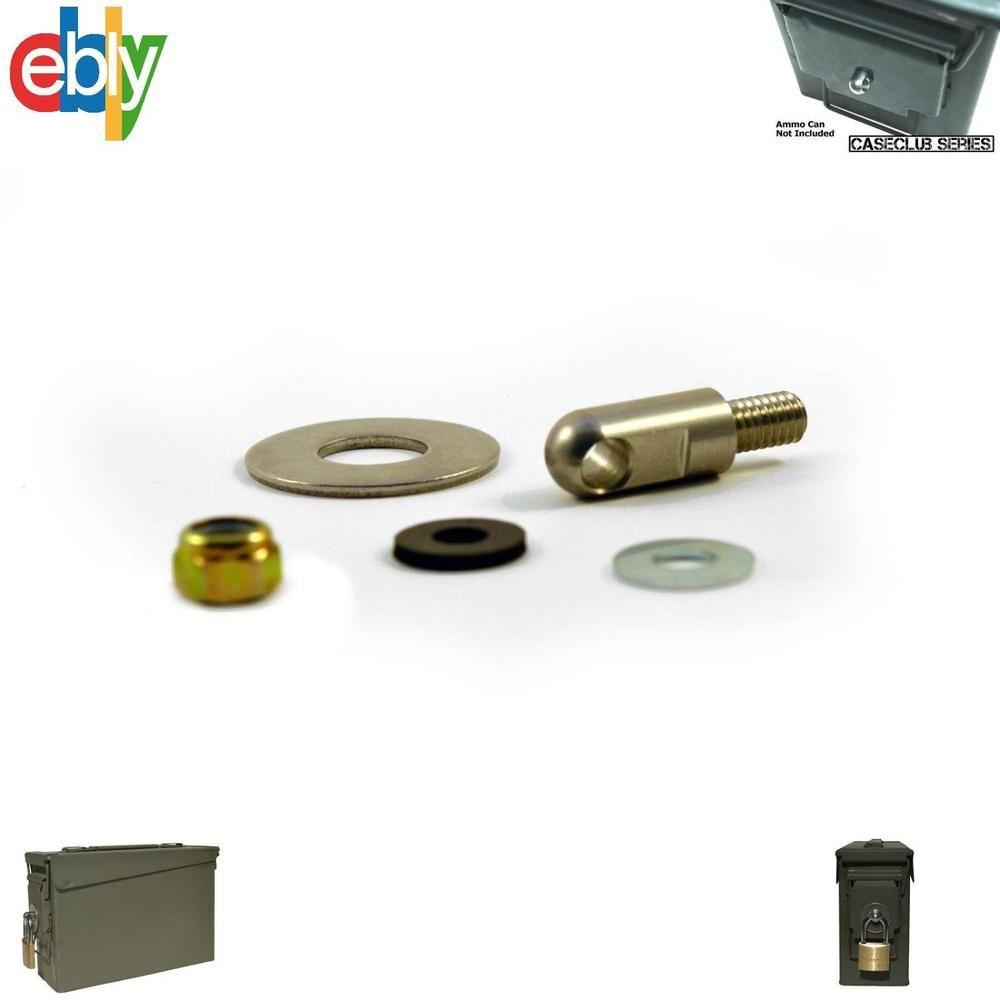 Locking Hardware Ammo Box Case Can 2nd Gen Fits 50 Cal 30 Cal 20 Mm 40 Mm Unbranded Ammo Box Hardware Ammo Cans