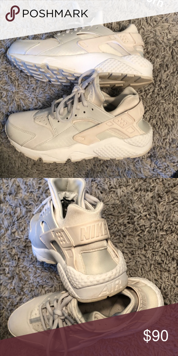fd5f8049b1 Brand New Nike Huarache Worn once, good condition Nike Shoes Sneakers