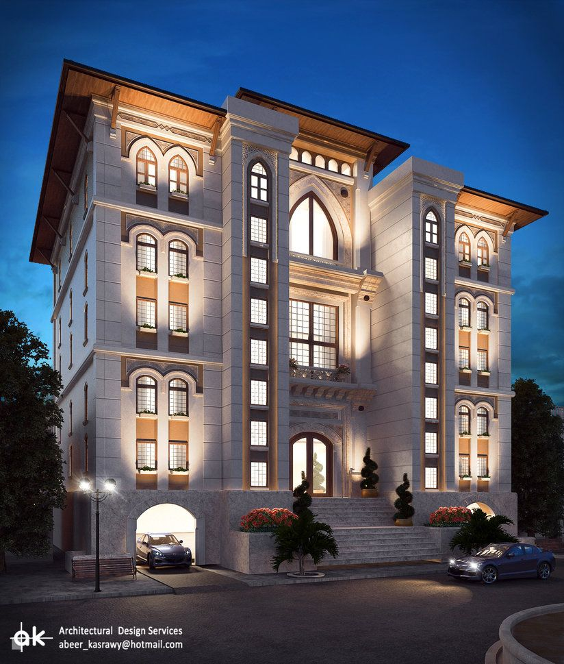 Hotel Exterior Design Architecture Affordable Ideas Modern: Final Night Exterior By Kasrawy