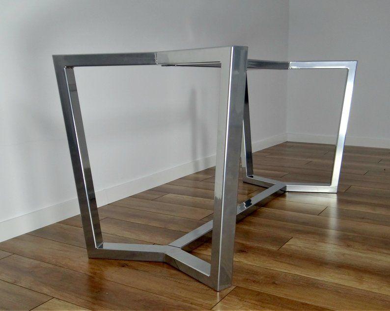 Steel Dining Table Frame Aura Metal Table Legs Steel Table Legs Iron Table Legs Industrial Furniture Steel Dining Table Iron Table Legs Metal Dining Table