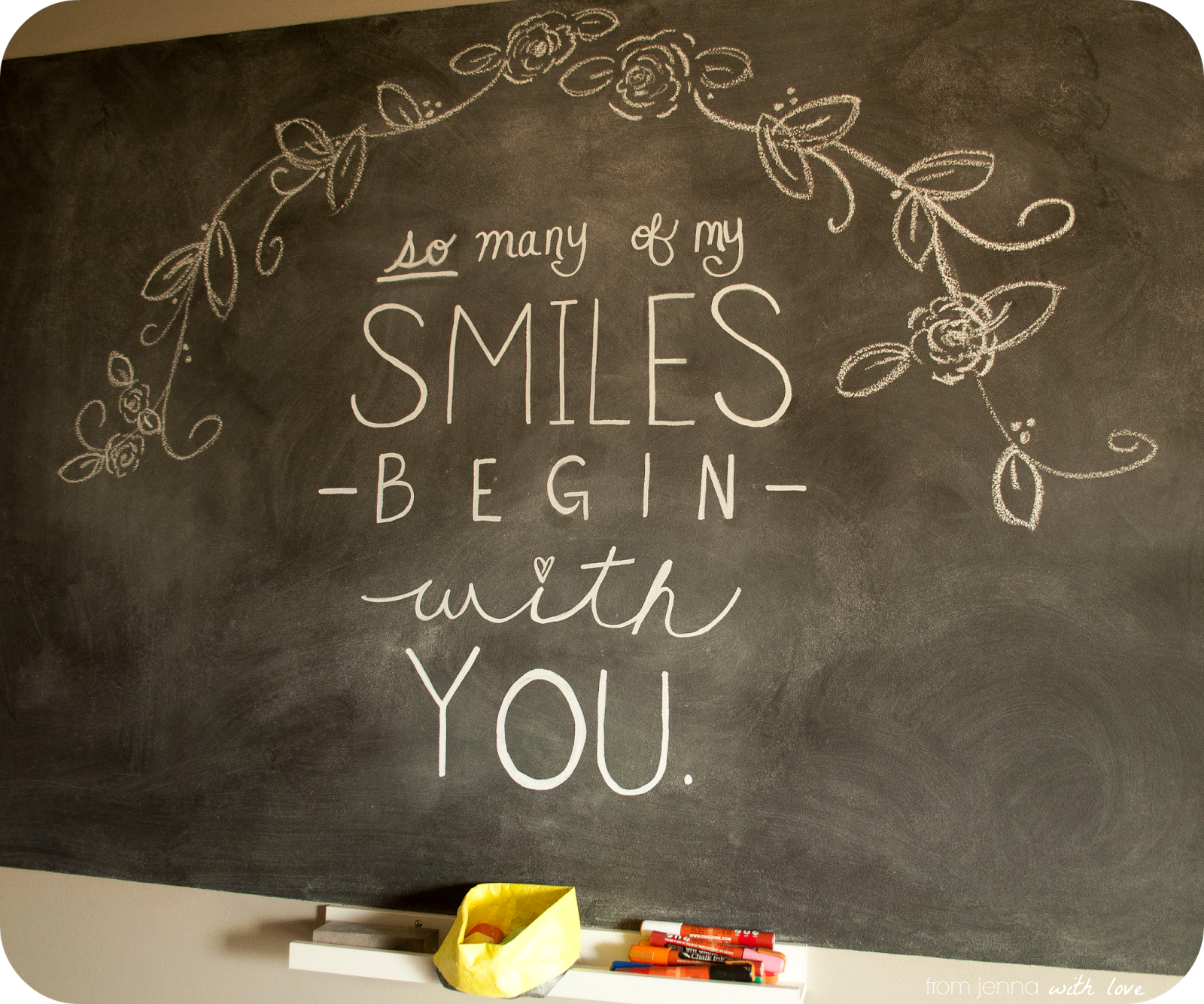 So many of my smiles begin with you <3    >> From Jenna with Love