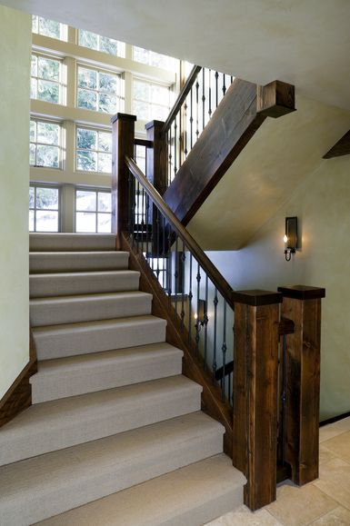 Pros And Cons Of Carpeting On Stairs Carpet Stairs Modern Staircase Staircase Design