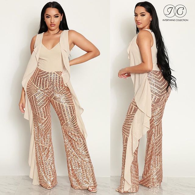 e3fc4fbc460 OMG look at our HIGH EXPECTATION SEQUIN JUMPSUIT - GOLD (CUSTOM) !AVAILABLE