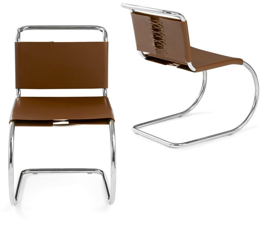 Mies van der Rohe's MR Side Chair Bauhaus architecture