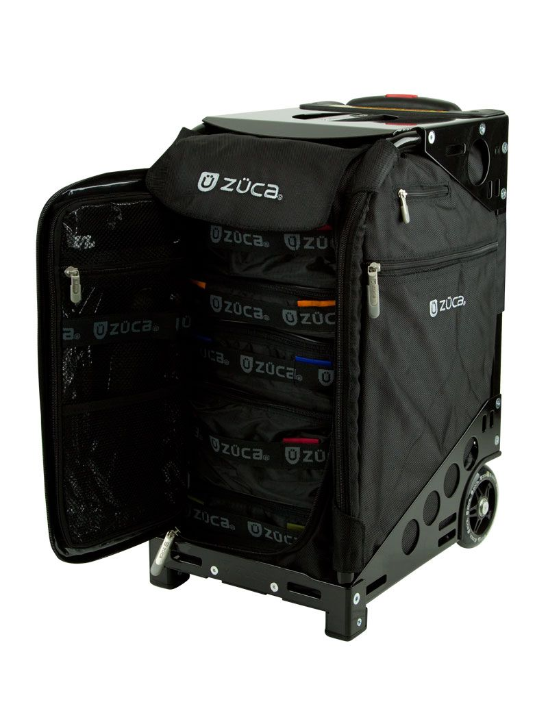Pro Travel Black Black On The Go Zuca Bag Makeup