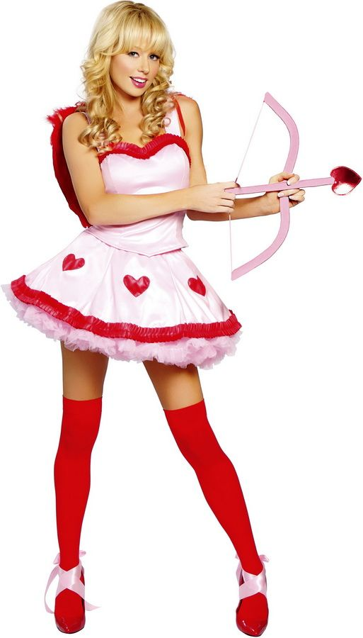 Sexy Valentines Day Cute Cupid Dress Costume Outfit In 2019 V Day