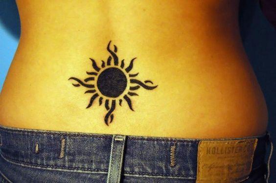 Afficher l'image d'origine   Soleil tatouage, Modele tatouage, Tatouage