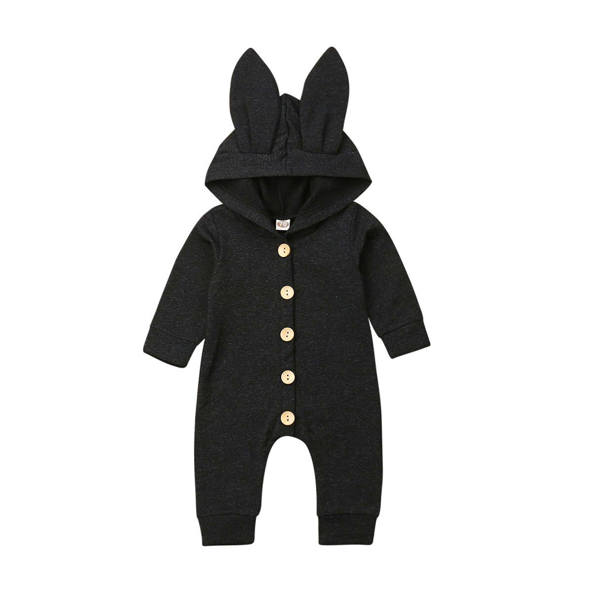 Newborn Baby Boys Girls Romper Jumpsuit Bodysuit Warm Clothes One-piece Outfits
