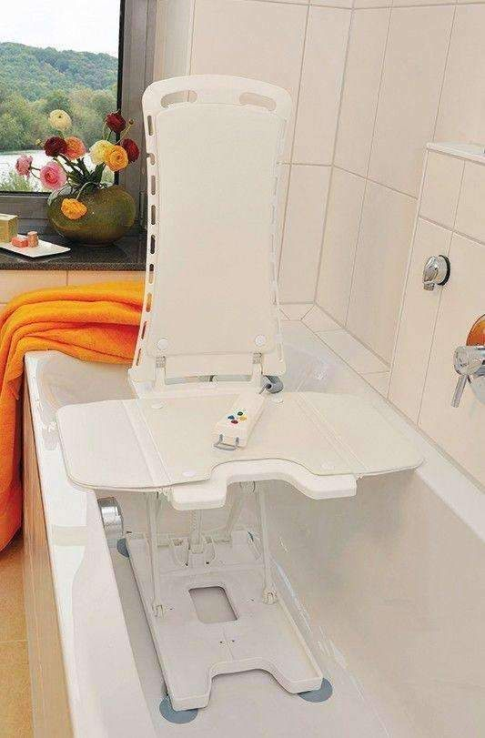 Drive Medical 477200252 Bellavita Automatic Bath Tub Lift with ...
