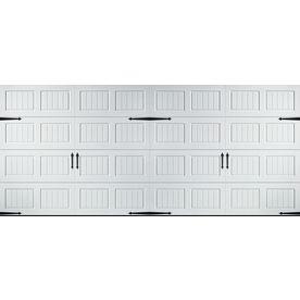 Reliabilt 16 Ft X 7 Ft 800 Series White Double Garage Door