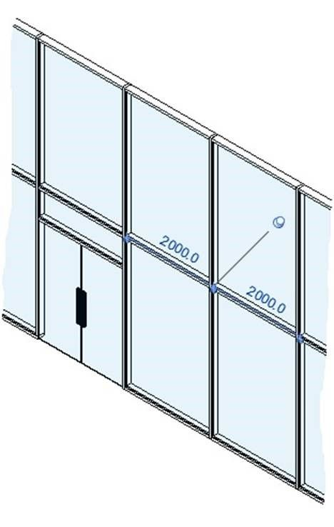 Revit Architecture 2017 – Curtain Walls: Modifying/Deleting