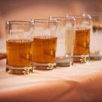 """A look at the """"Beer Experience"""" event at this year's Harvest on the Harbor! Beer connoisseurs welcomed! #harvestonharbor"""