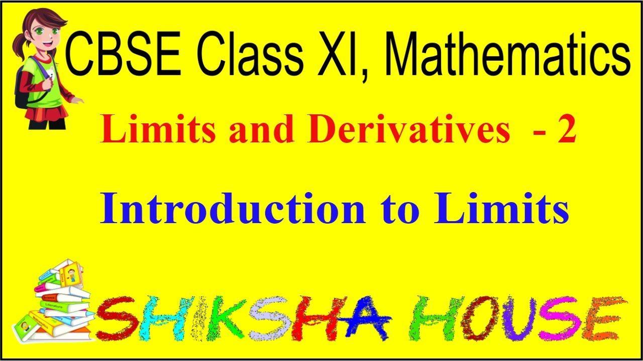 Cbse class 11 mathematics limits and derivatives 2