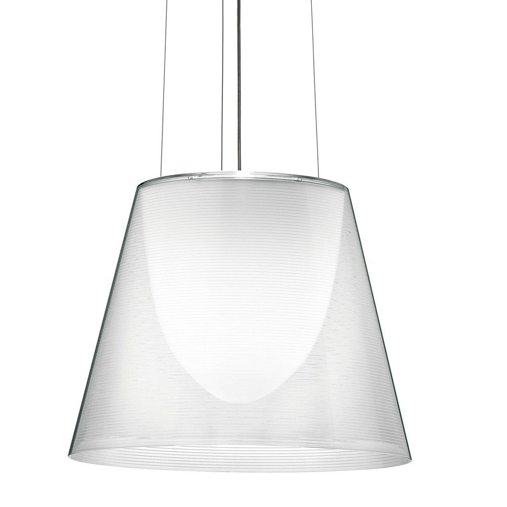 Discover the Flos KTribe S2 Suspension Light - Transparent at Amara