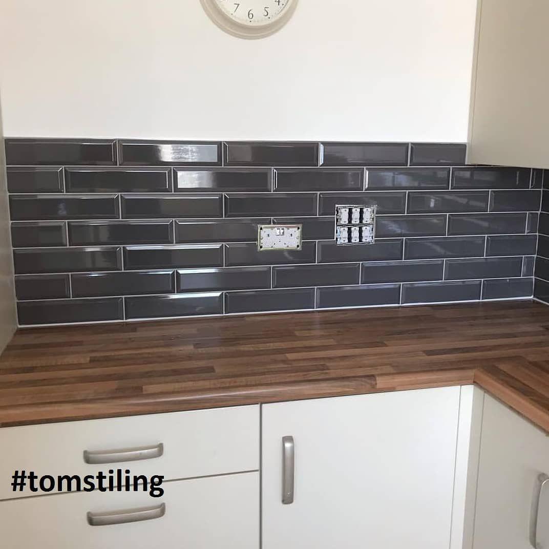 Marylebone Dark Grey Grey Kitchen Tiles Grey Kitchen Walls Grey Kitchen Wall Tiles
