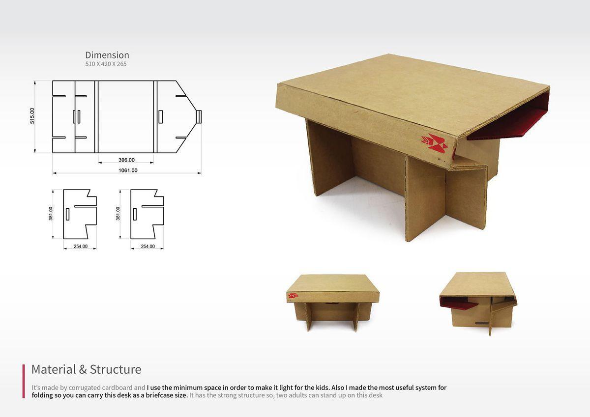 Https Blueprint Api Production S3 Amazonaws Com Uploads Card Image 532421 15f86c57 4430 463c B373 F193ab9f5e33 Design En Carton Bureau Pliable Papier Carton