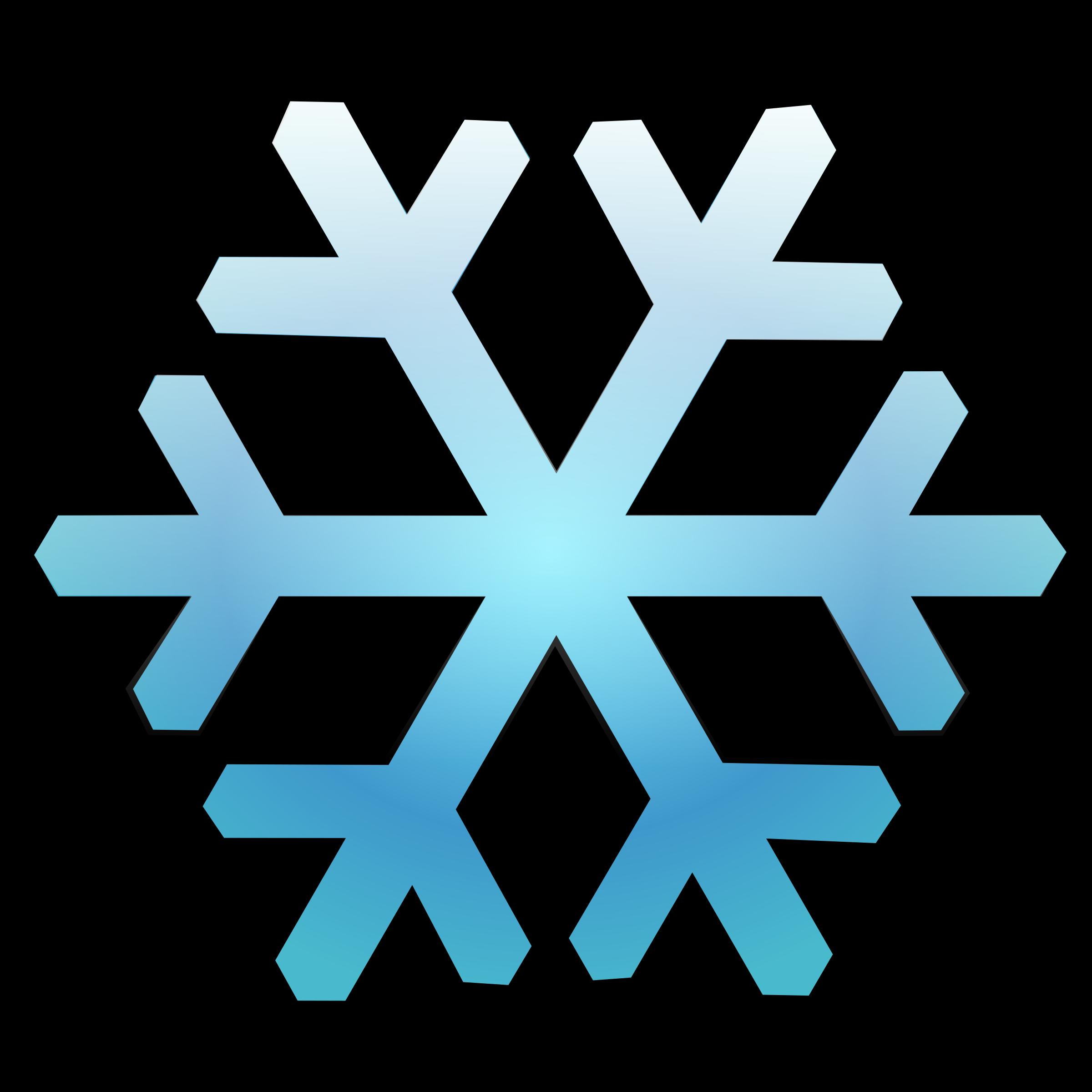 38+ Blue snowflake clipart free ideas