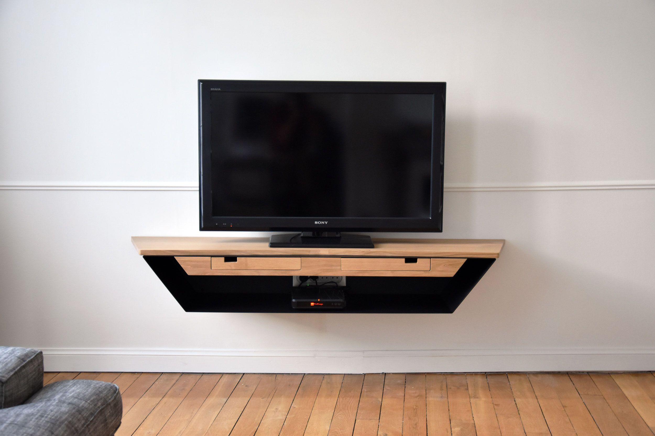 Lilliac Meuble Tv Baru Design Meuble Tv Suspendu Meuble Tv Meuble Tele