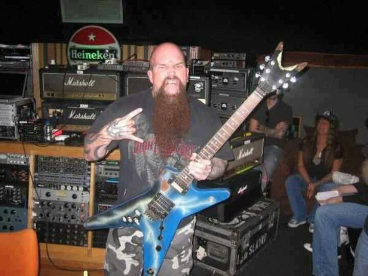 KFK with Dimebags guitar! \m/
