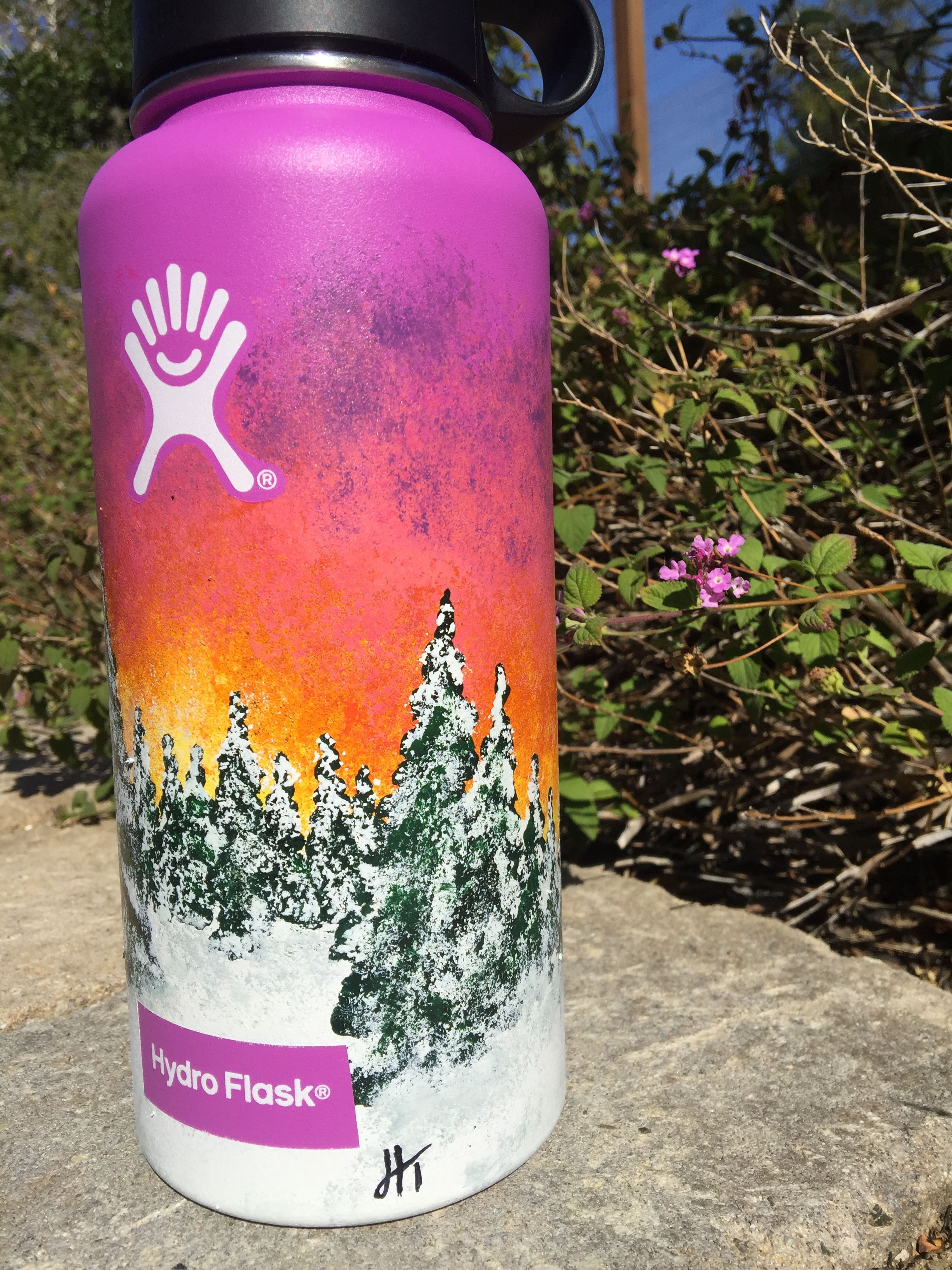 Sunset love hydroflask