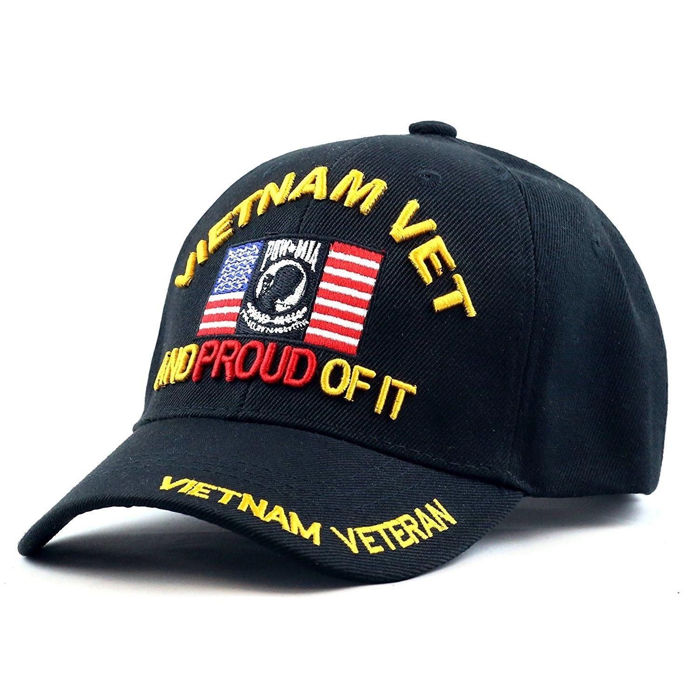 34a387881aa01a Hats & Caps, Men's Hats & Caps, Baseball Caps,1100VIETVETBK Official  Licensed Vietnam Vet Proud Logo Cap - CM12665Z1W1 #caps #hats #style  #mensoutfits ...