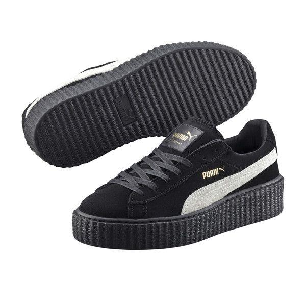 "PUMA by Rihanna Fenty ""Creeper Sneakers Suede ""star white"