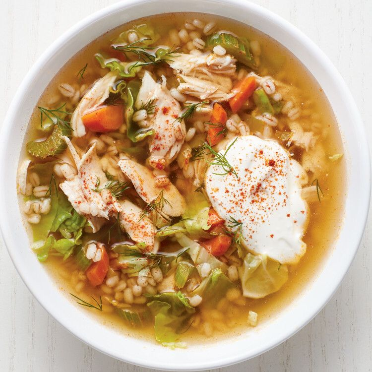 Chicken and Barley Soup Recipe in 2020 (With images