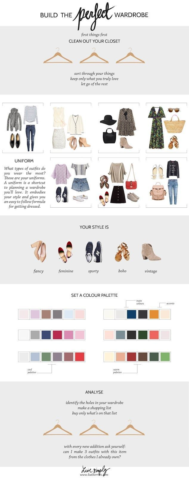Katberries: HOW TO BUILD THE PERFECT (CAPSULE) WARDROBE My