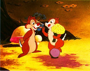 """Chip 'n Dale (1989-1890) - """"I don't think you can blame them. After all, we are rodents."""""""
