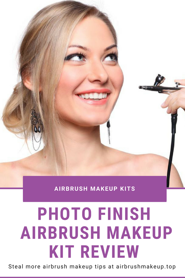 The Photo Finish Airbrush Makeup Kit Was Designed For Professional Stylists But With Features That Are