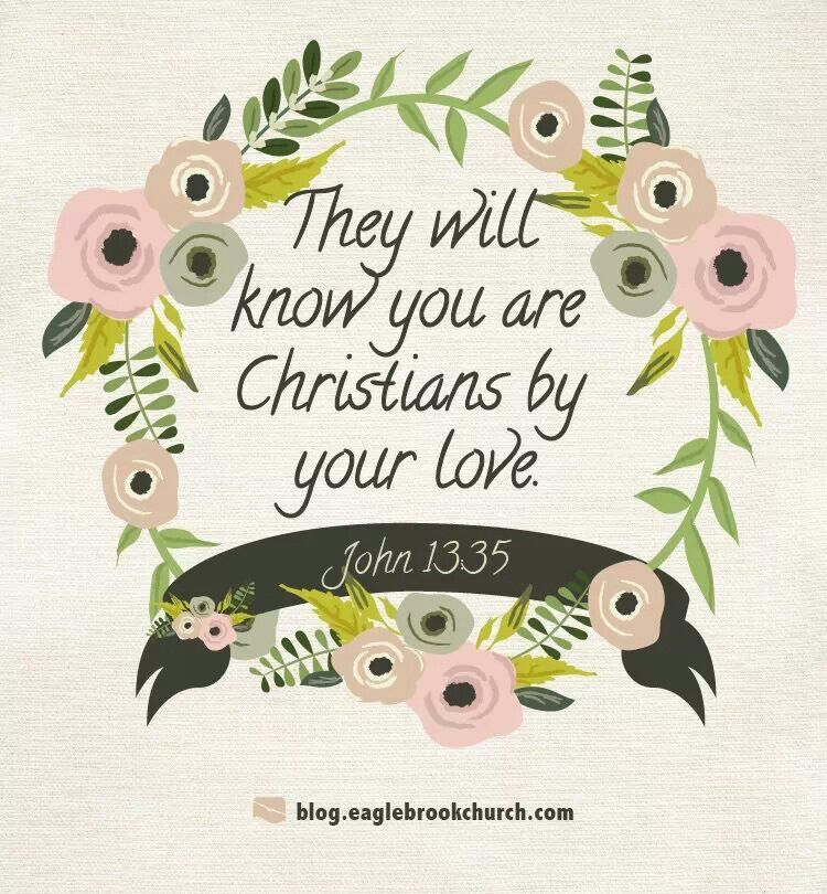 They Will Know You By Your Love