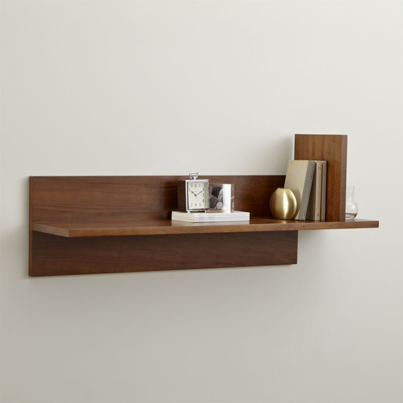Loft Wall Shelf Ii Crate And Barrel Home Decor Pinterest