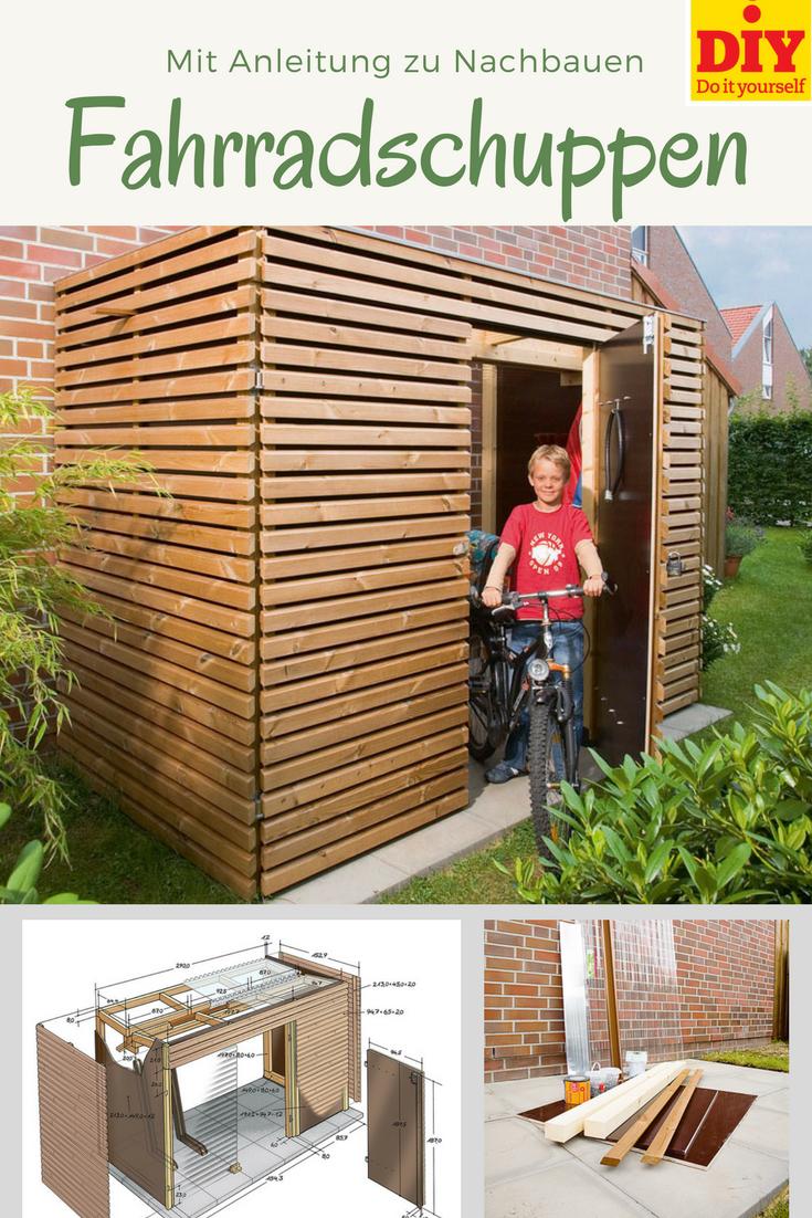 kompakter fahrradschuppen, mit transparentem dach und praktischen