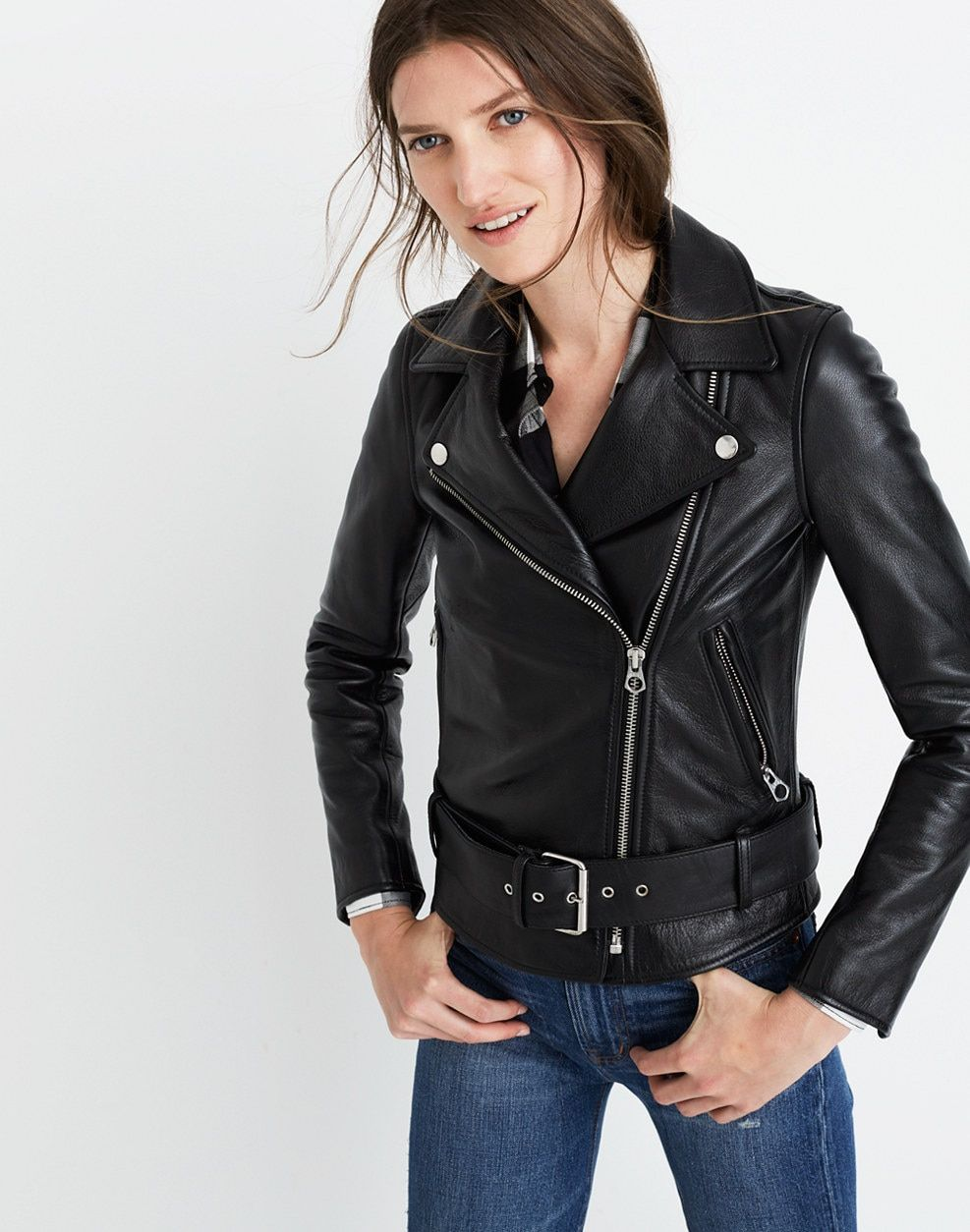 f41cca48b Ultimate Leather Motorcycle Jacket : leather jackets | Madewell ...
