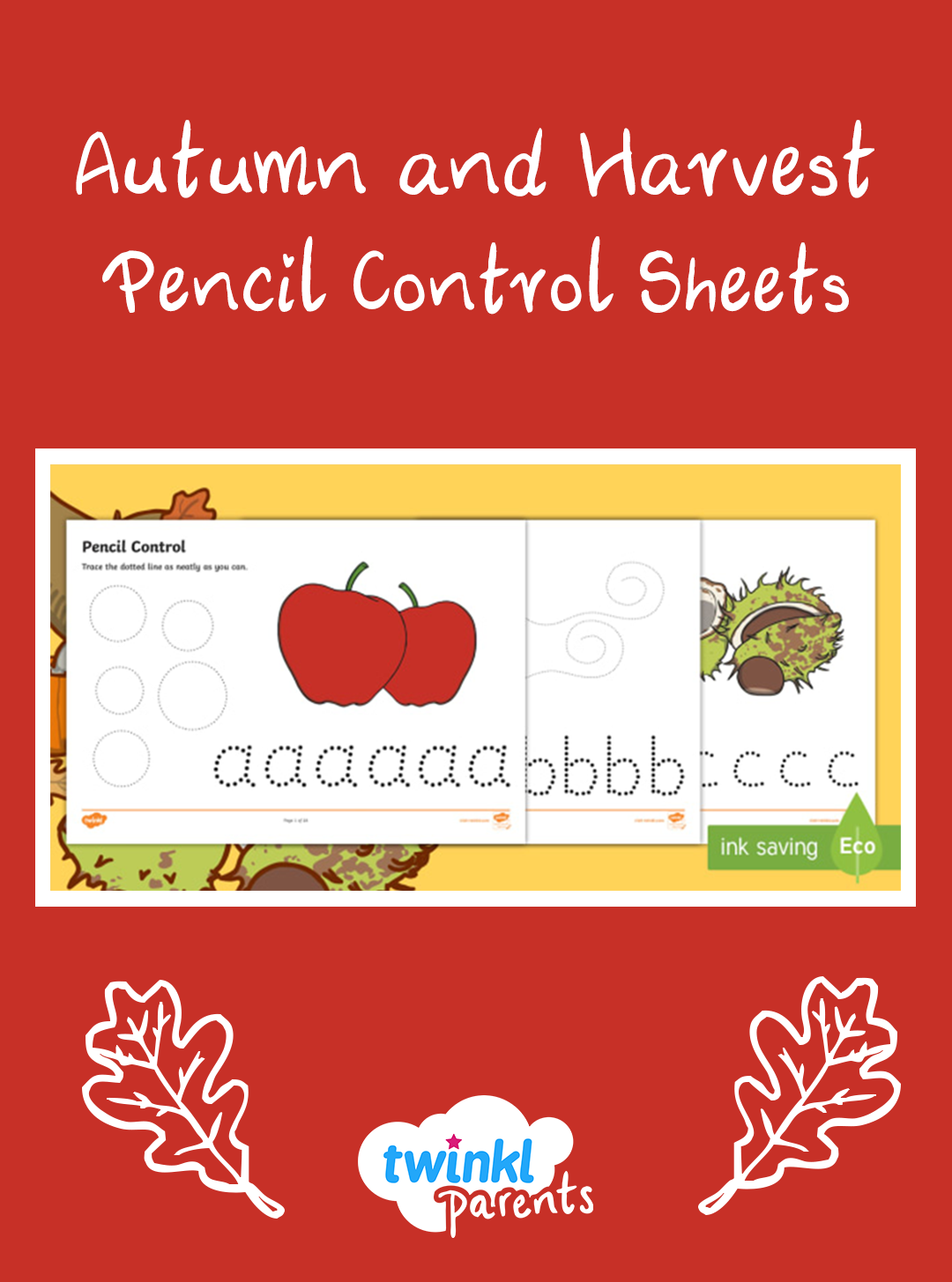 Our Pencil Control Worksheets Are Great For Helping Your
