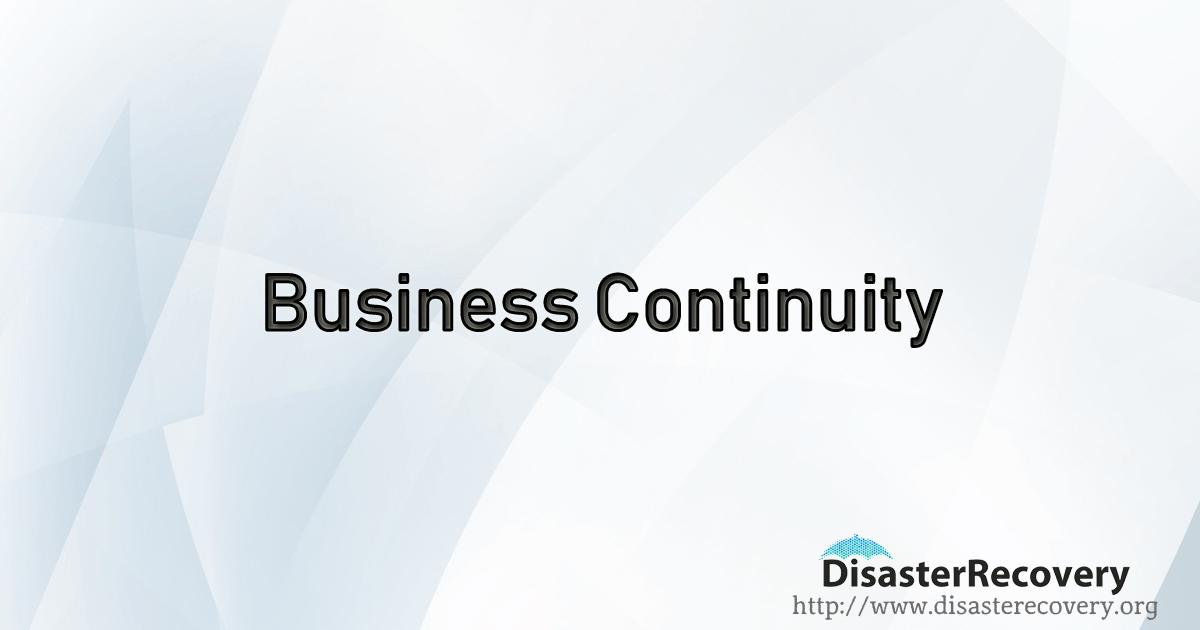 Business Continuity Business continuity, Business