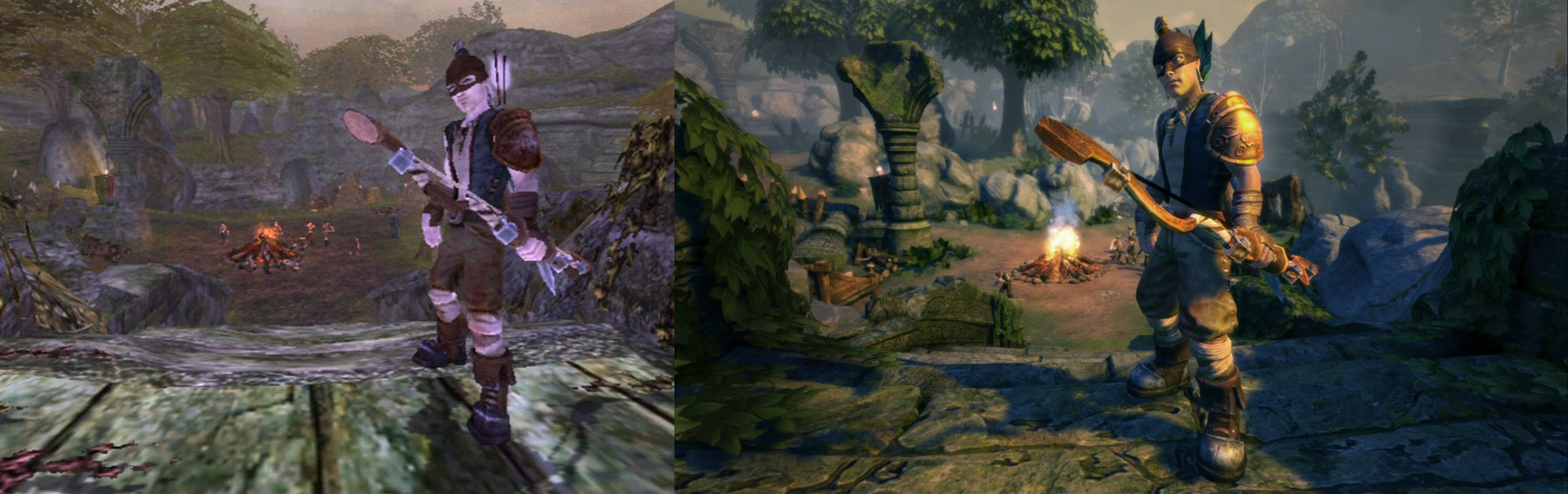Achievement Unlocked Achievements Are Now Unlocked In The New Fable Anniversary For Xbox 360 Fables Painting Art