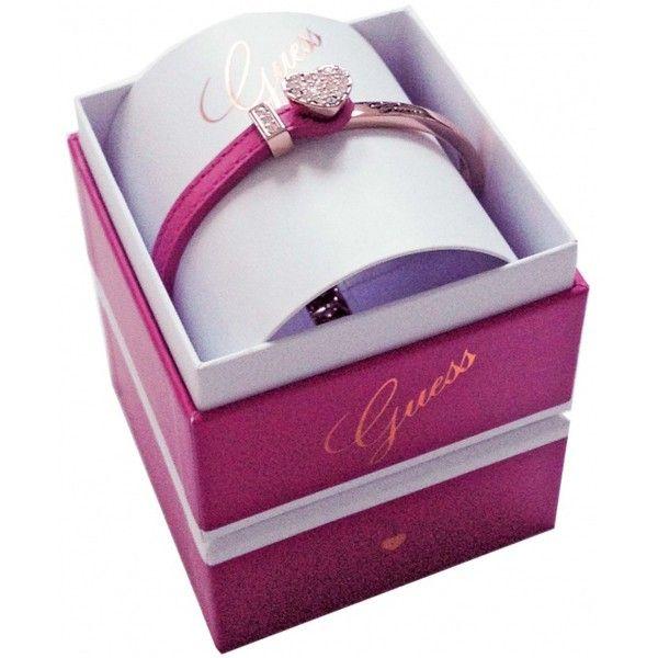 Bracelet guess coeur rose