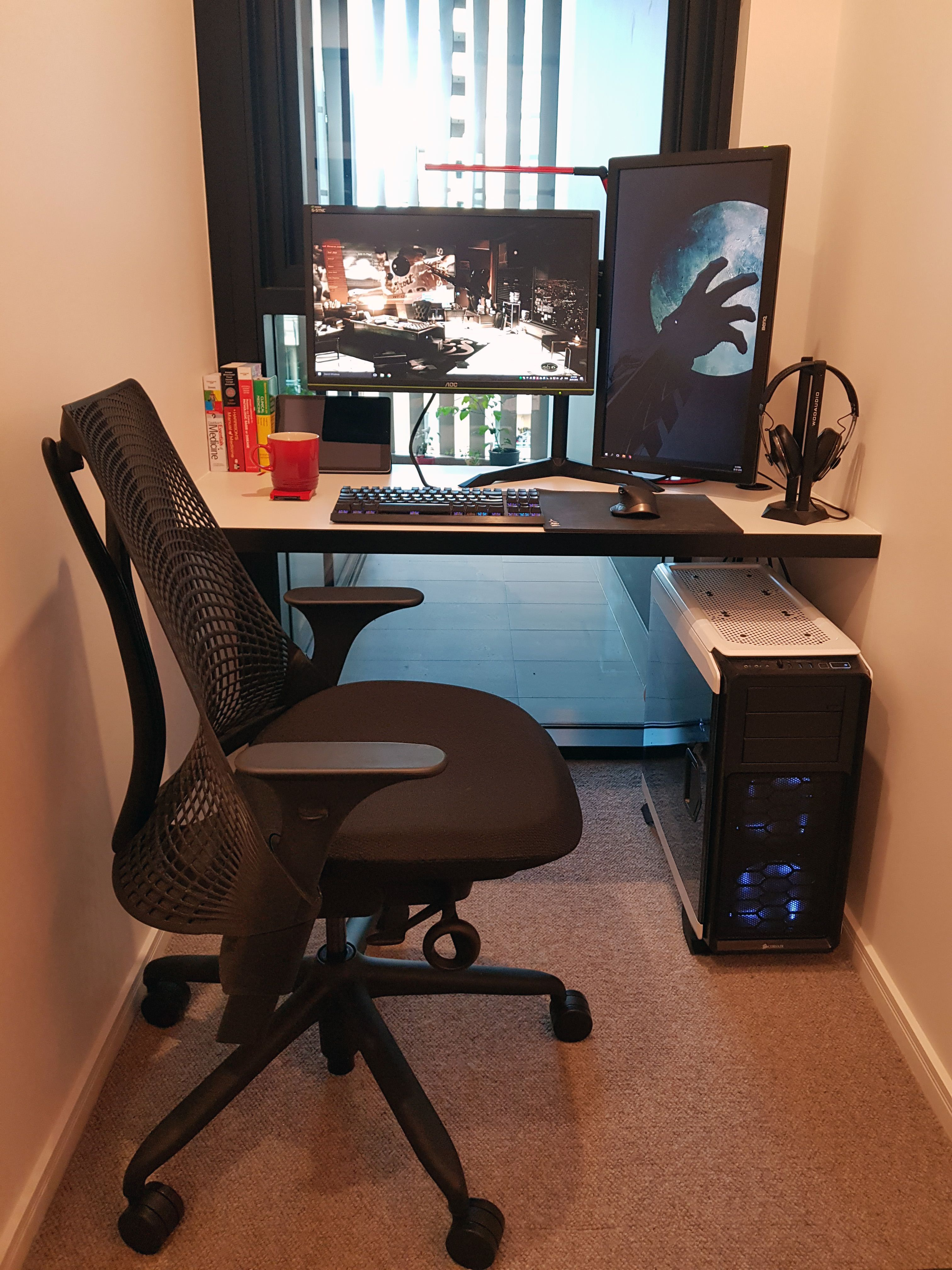 My Personal Gaming Setup Officegamespot Officegameprizes Gameheadoffice Gameheadofficecontactnumber Game Home Office Setup Computer Desk Diy Computer Desk