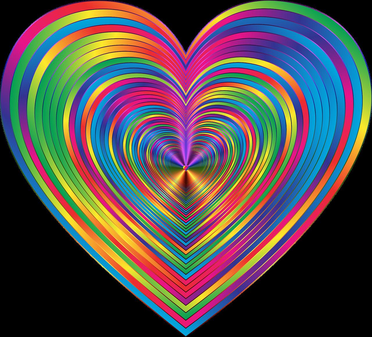 When It Comes To The Tie Dye Trend Eat It Don T Wear It Rainbow Tie Dye Surprise Cake Heart Heart Stickers Rainbow Heart Rainbow Images