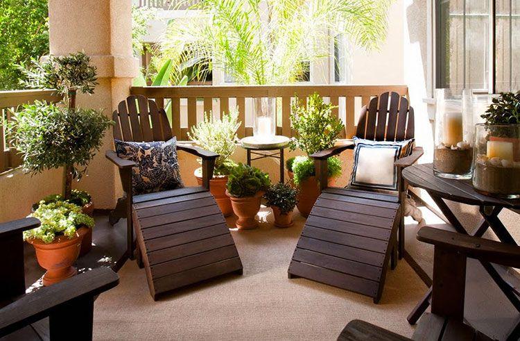 Latest arredamento per piccolo terrazzo with arredamento per esterno terrazzo