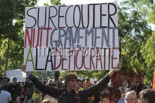 AFP   ImfDiffusion   FRANCE - PARIS - DEMONSTRATION - INTELLIGENCE BILL (citizenside.com - CS_114767_1252019 - CITIZENSIDE/CHRISTOPHE BONNET)