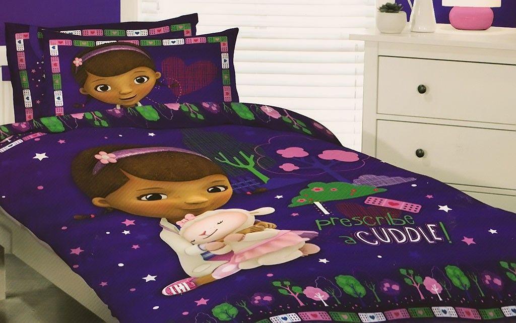 Doc Mcstuffins Quilt Cover Set Doc Mcstuffins Bed Quilt Cover