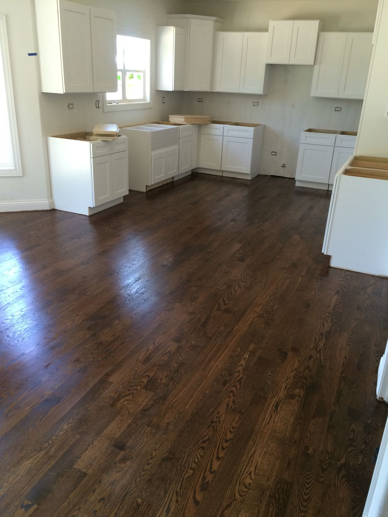Spice Brown Stain Staining Wood Floors Hardwood Floor